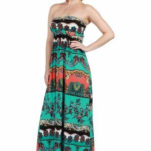 3dd70ec9ebe 24 7 Comfort Apparel Dresses - 24Seven Comfort Apparel Bethany Strapless  Maxi